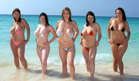 Chubby Nude Beach Pics