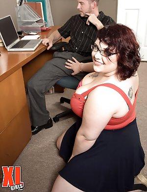 Chubby Secretary Pics